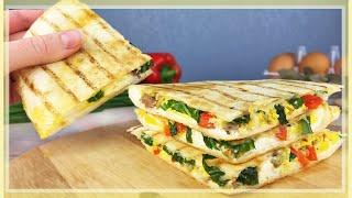 Что Приготовить на ЗАВТРАК Вкусный Завтрак из Яиц и сыра за 15 Минут