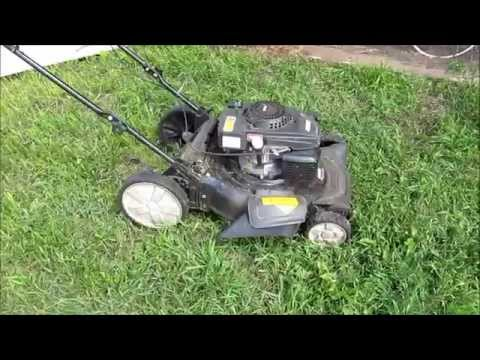 20in Mtd Side Discharge Push Mower Doovi