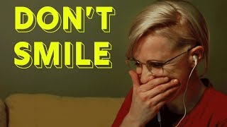 Try Not To Smile Challenge || Hannah Hart
