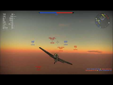 "War Thunder - BF109 E-3 - ""PEW PEWS NOT PEW-PEWING!!!!"""
