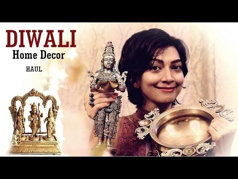 My Diwali Home Decor Shopping   Indian Youtuber