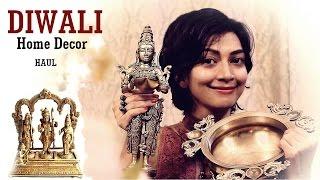 My Diwali Home Decor Shopping | Indian Youtuber