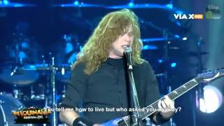 Megadeth - Whose Life (Is It Anyway) Live (Lyrics)