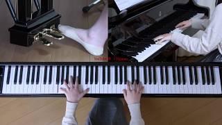 使用楽譜:ぷりんと楽譜・上級、 採譜者:鈴木奈美、 2019年1月27日 再...