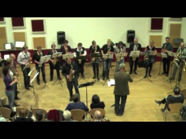 Westland Saxofoon Orkest solist Arno Bornkamp - Pequena Czarda - Ituralde