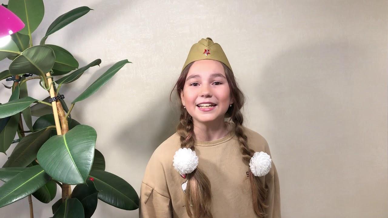 157. Эскина Виктория, 11 лет. Песня «Три танкиста» муз ...