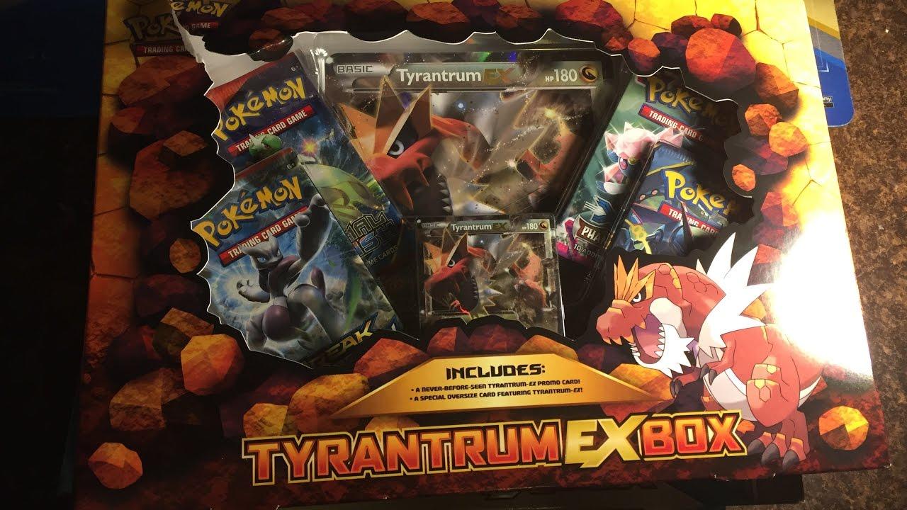 Tyrantrum Ex Box Opening