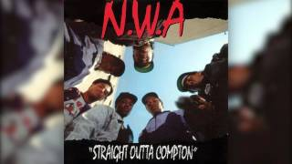 N.W.A - Gangsta Gangsta (CLEAN) [HQ]