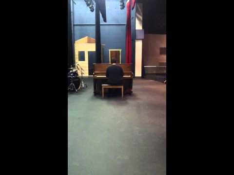 Constantine High School Talent Show 11-20-12 Tim Eby