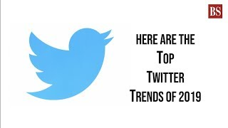 Here are the top Twitter trends of 2019