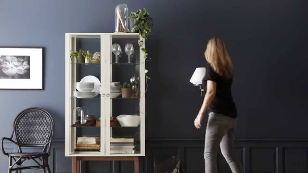 IKEA Ideas How To Make A Stylish Cabinet Display   YouTube
