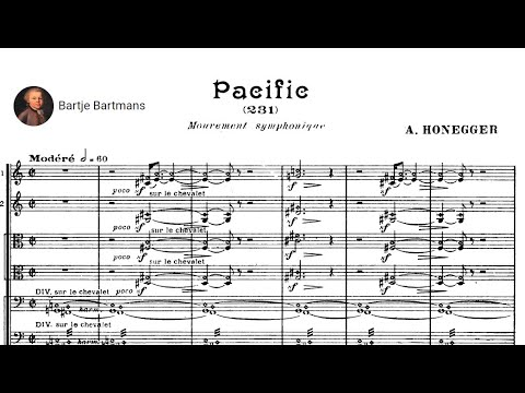 Arthur Honegger - Pacific 231 Mouvement symphonique No. 1 (1923)