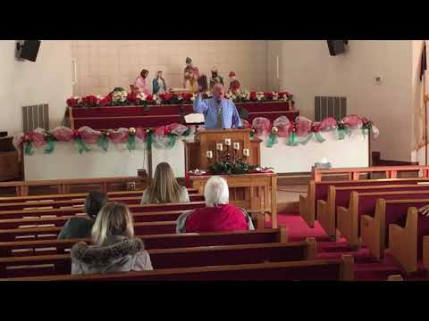 Preacher Tracy Wells:  12-10-17