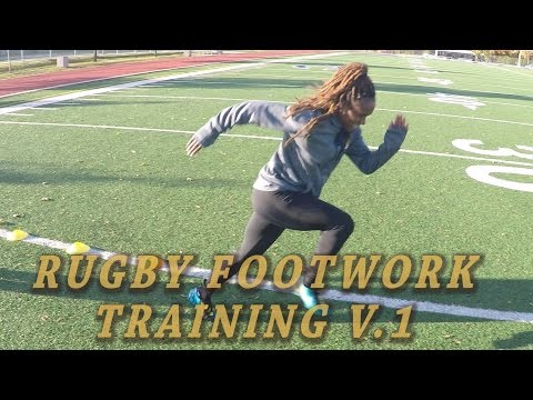 Rugby Basic Foot Speed/Agility Training