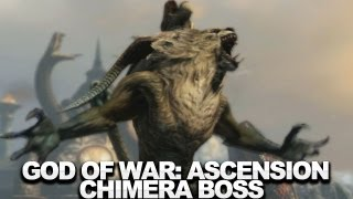 God of War: Ascension Walkthrough (Boss 3) - The Chimera