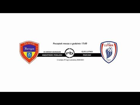 KS MOSiR Huragan Międzyrzec Podlaski - GLKS Lutnia Piszczac (2.kolejka IV Ligi Lubelskiej 2020/21)