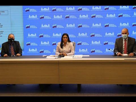 Delcy Rodríguez: Venezuela llevará a Iván Duque ante la Corte Penal Internacional