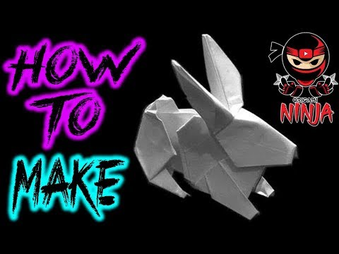 how to make origami rabbit step by step