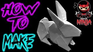 Origami Rabbit Tutorial (hsi-min Tai)
