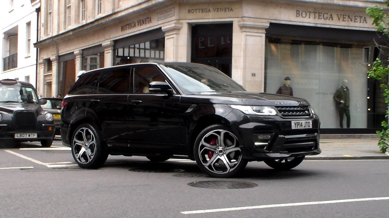 Overfinch Range Rover Sport Lovely Sound Hd Youtube