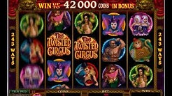 THE TWISTED CIRCUS Online Slot Machine Live Play Free Spins HUGE BONUS Win