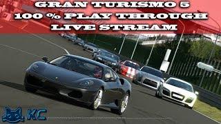 Gaming :Gran Turismo 5 100% Playthrough (60%) (PS3) Nurburg 24H Endurance (Live Stream🔴 22/1/2019)