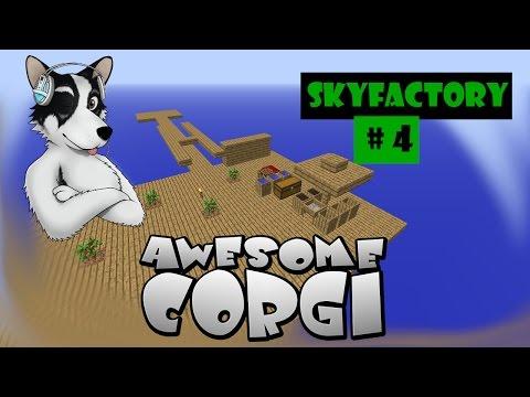 Skyfactory med AwesomeCorgi: Avsnitt 4