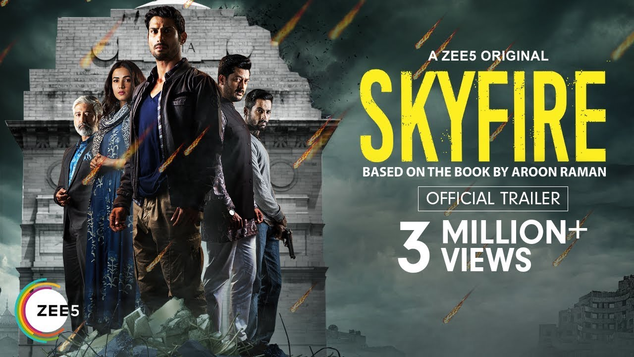 Skyfire | Official Trailer | A ZEE5 Original | Prateik Babbar, Sonal  Chauhan | Streaming Now On ZEE5
