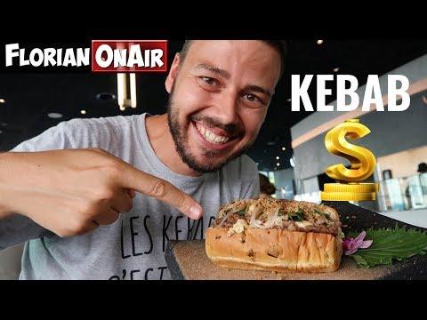 DEGUSTATION du KEBAB le PLUS CHER DU MONDE : 78 euros! - VLOG #647
