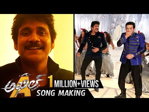 Akkineni Song Making || Nagarjuna Dance...