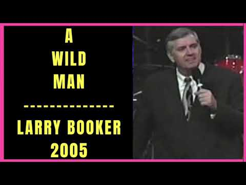 A Wild Man by Larry Booker 2005