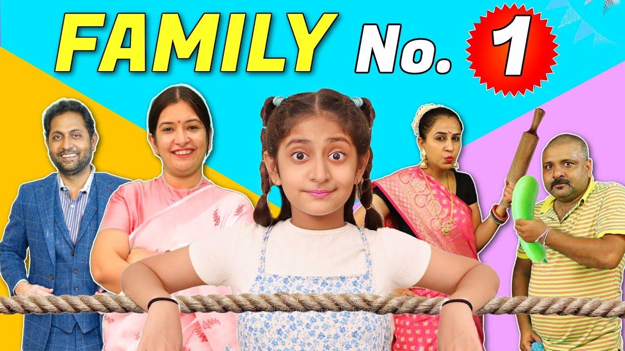FAMILY No 1 | My Real vs Fake Family | Comedy Drama | MyMissAnand