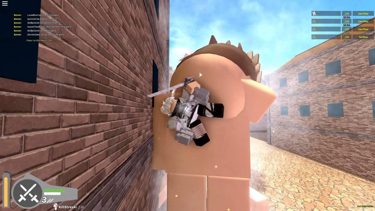 Attack on Titan:Downfall!| 200 KILL STREAK; LEVI MODE ...