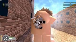 Attack on Titan:Downfall!| 200 KILL STREAK; LEVI MODE| ROBLOX