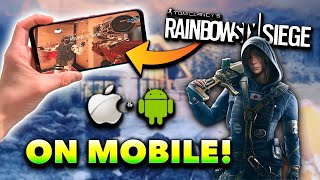 How to Download Rainbow Six Siege on iOS/Android! (R6 Siege Mobile Tutorial)