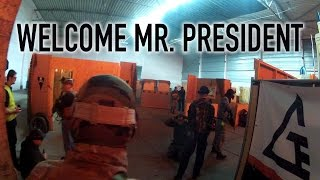 Airsoft scenario - Welcome mr. President!