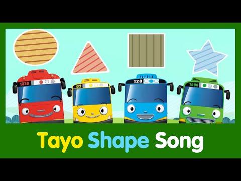 [Tayo Song Series] #05 Shapes Song