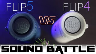 JBL Flip 5 vs Flip 4 :Sound Battle: Almost to the size of the JBL Charge 3?