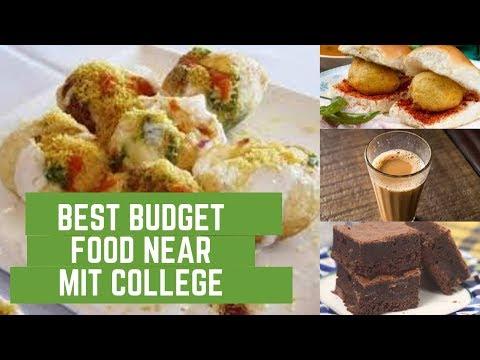 TASTY FOOD IN BUDGET NEAR MIT COLLEGE   FOOD UNDER 200 NEAR MIT COLLEGE   