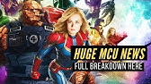 HUGE MCU NEWS! New Films But NO AVENGERS For Five Years??