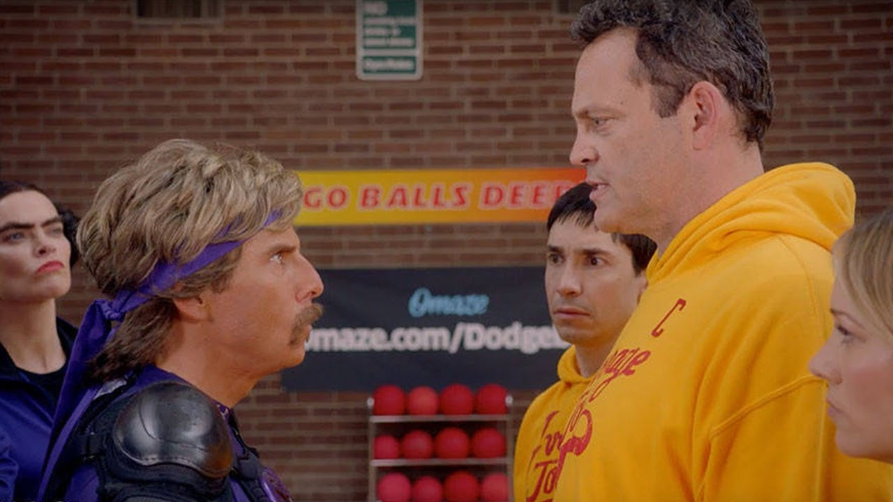 Gordy Movie Cast in dodgeball cast reunites in new video for a good cause - youtube