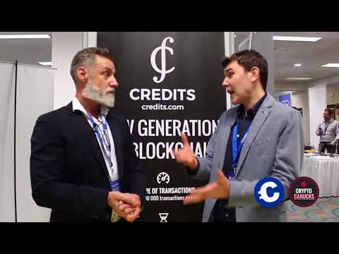 Blockchain Interviews - CREDITS highly scalable transaction network @ BTC Miami
