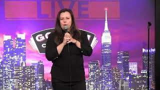 Vicky Kuperman stand-up clip at Gotham Comedy Club 2.4.19