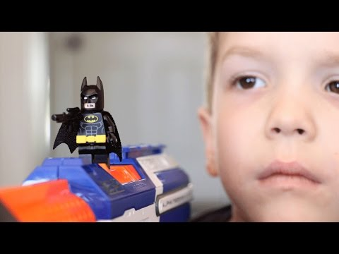 Nerf War:  Release the Dark Knight