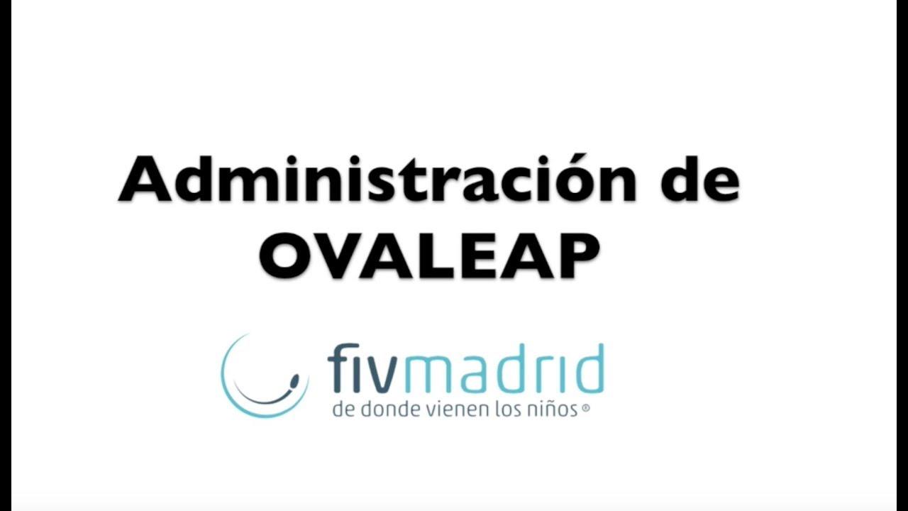 Administración de Ovaleap - YouTube