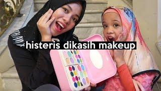 Dikadoin Kids Makeup, Saleha Histeris! LUCUUU! | SOHWAcam