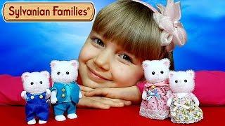 ❤ Самые милые кошечки ❤ Заселяю в домик семью персидских котов Sylvanian Families