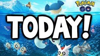 SHINY LUDICOLO LOOKS AMAZING! - 2nd Gen 3 Wave TODAY in Pokémon GO! (Pokémon GO Christmas Update)