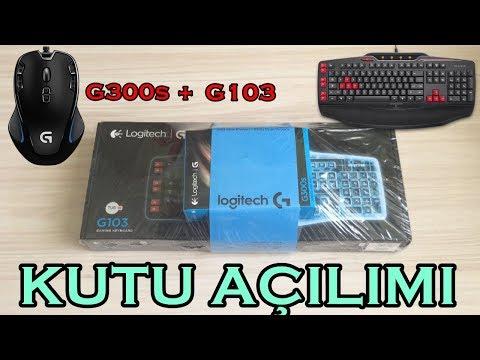 Logitech G300s + Logitech G103 Gaming Set Kutu Açılımı Ve Yorumlama