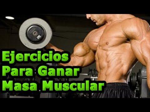 Subir de peso para ganar masa muscular